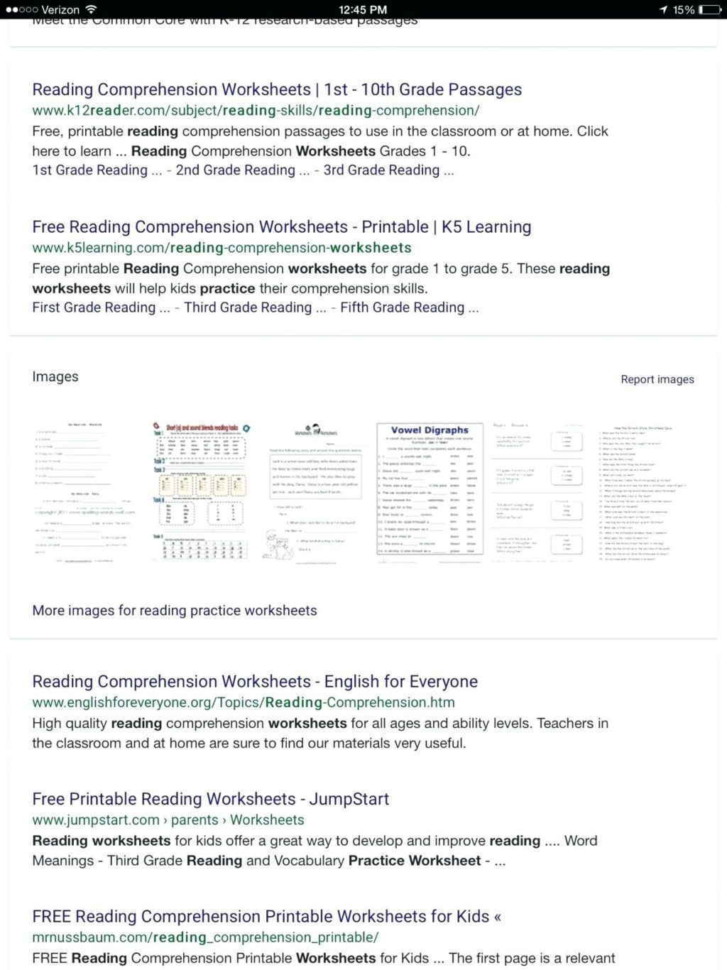 1st Grade Comprehension Worksheets Free Math Worksheet First Grade Prehensions Test Answers