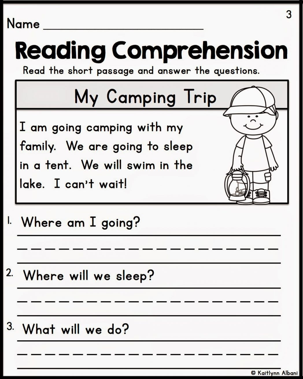 1st Grade Reading Fluency Worksheets Free Worksheets for 1st Grade Reading