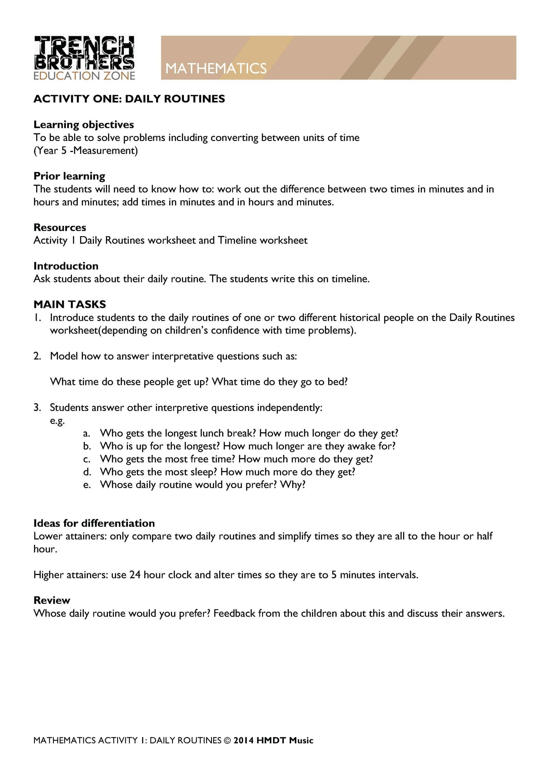 2nd Grade Minute Math Worksheets 3 Free Math Worksheets Second Grade 2 Telling Time Telling