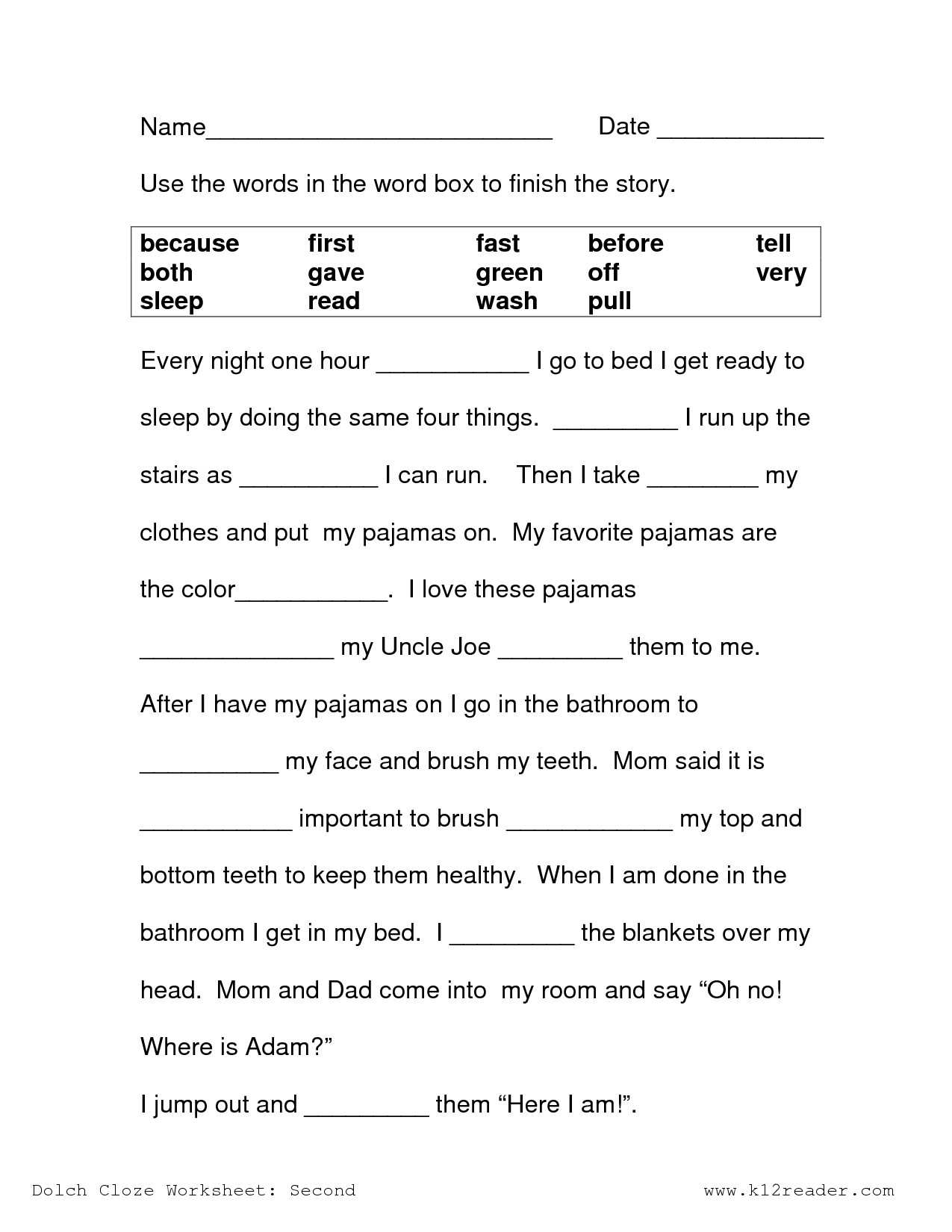 2nd Grade Reading Worksheets Printable 3rd Grade Context Clues Reading Prehension Worksheets