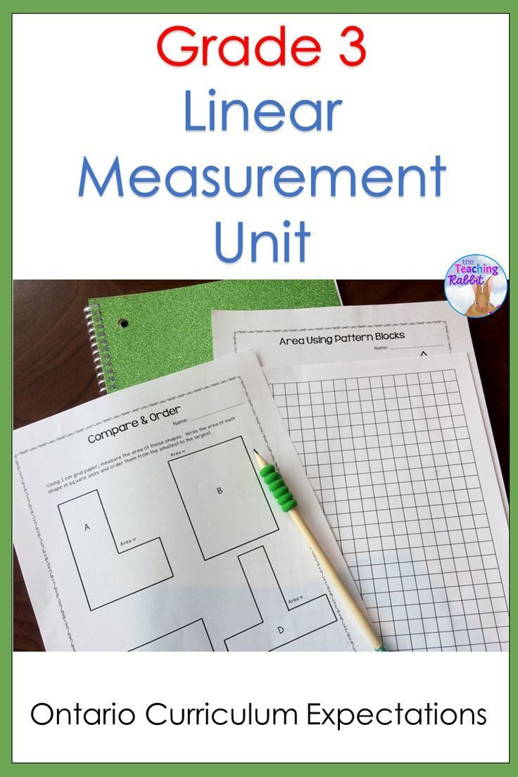 3rd Grade Math Measurement Worksheets Linear Measurement Unit Grade 3