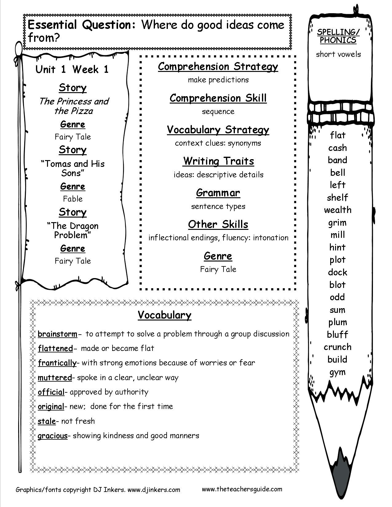 4th Grade History Worksheets Mcgraw Hill Wonders Fourth Grade Resources and Printouts