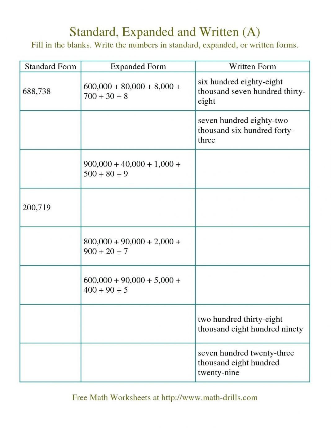 5th Grade Expanded form Worksheets 40 Clever 1st Grade Math Worksheets Design Bacamajalah In