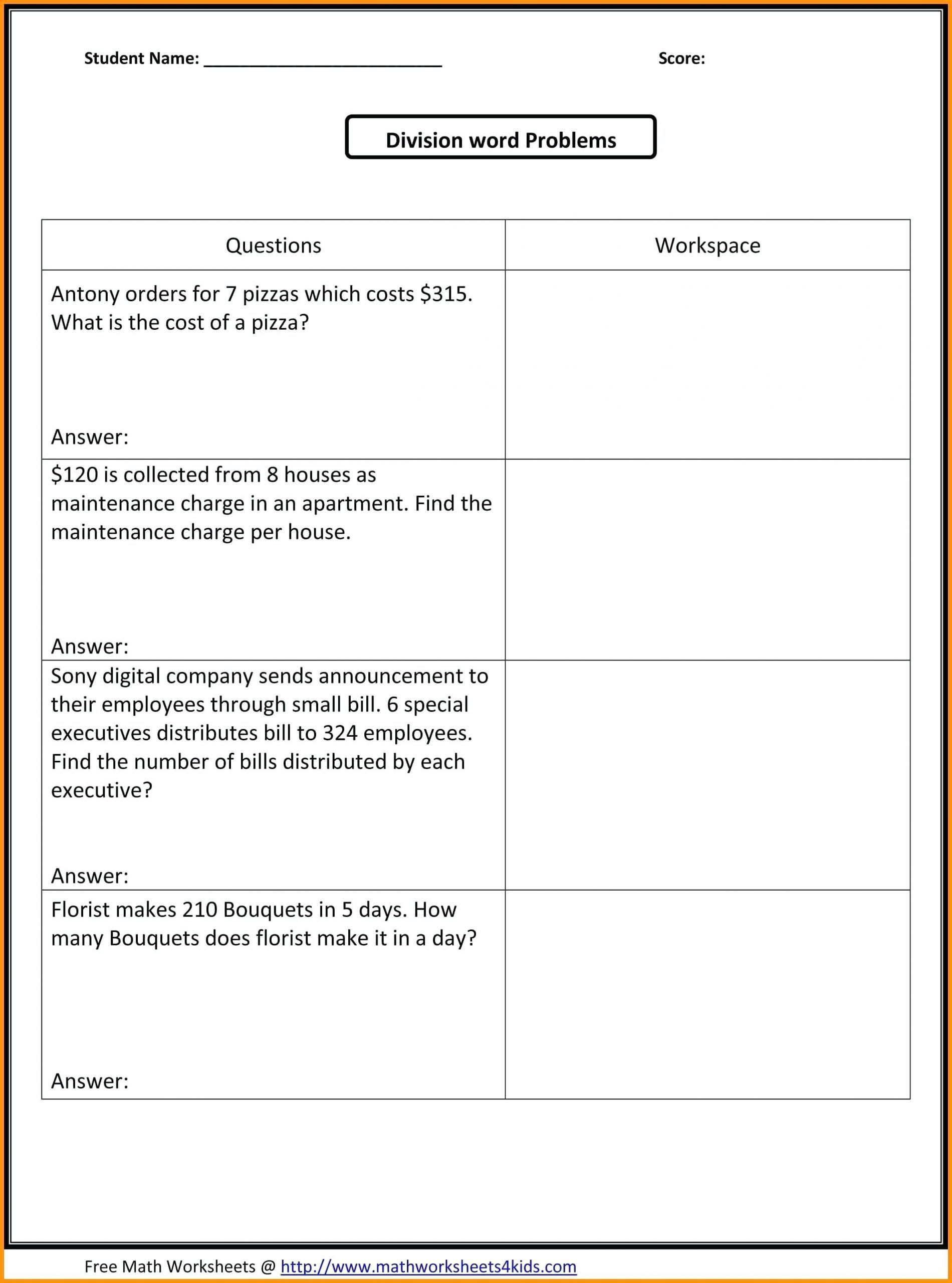 6th Grade Measurement Worksheets Worksheet Free Math Worksheets Sixth Grade Fractions Word