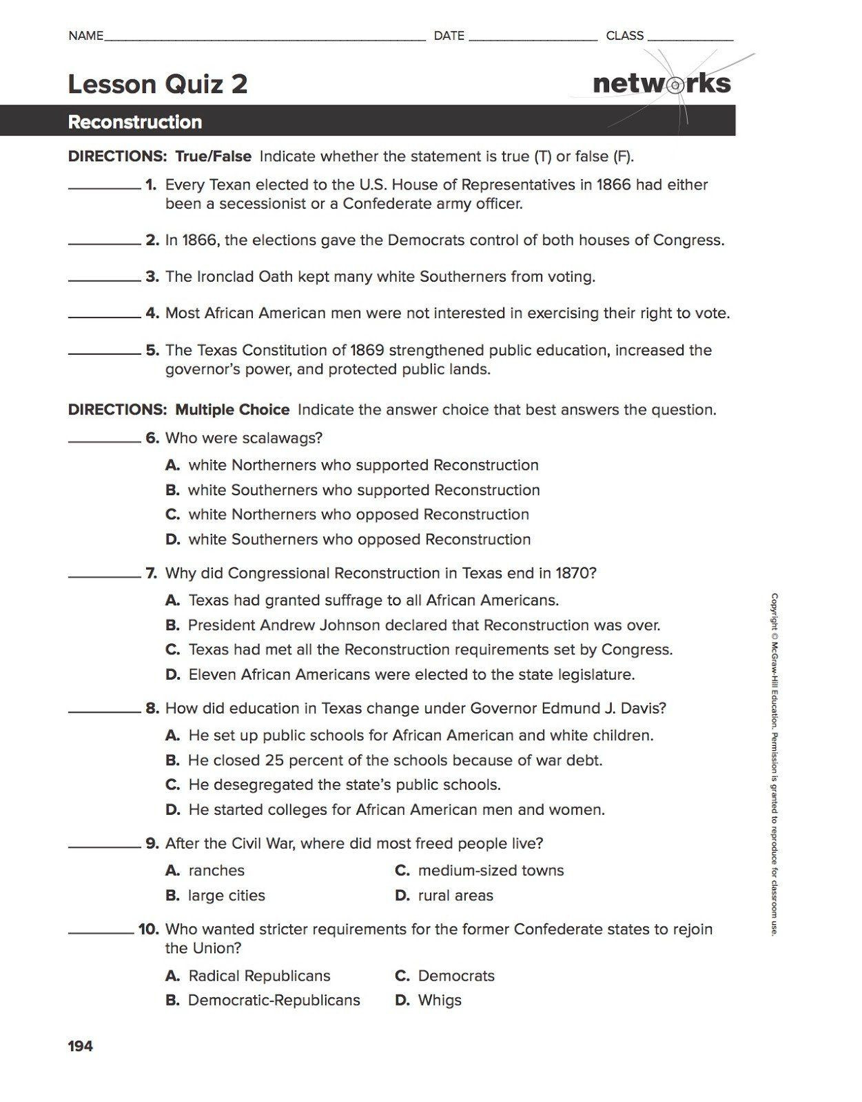 7th Grade History Worksheets Pin On Grade Worksheets & Sample Printables