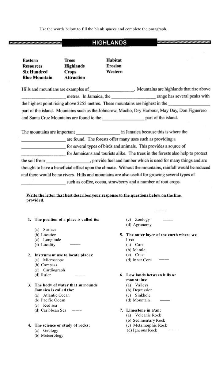 8th Grade social Studies Worksheets Grade 8 E Test