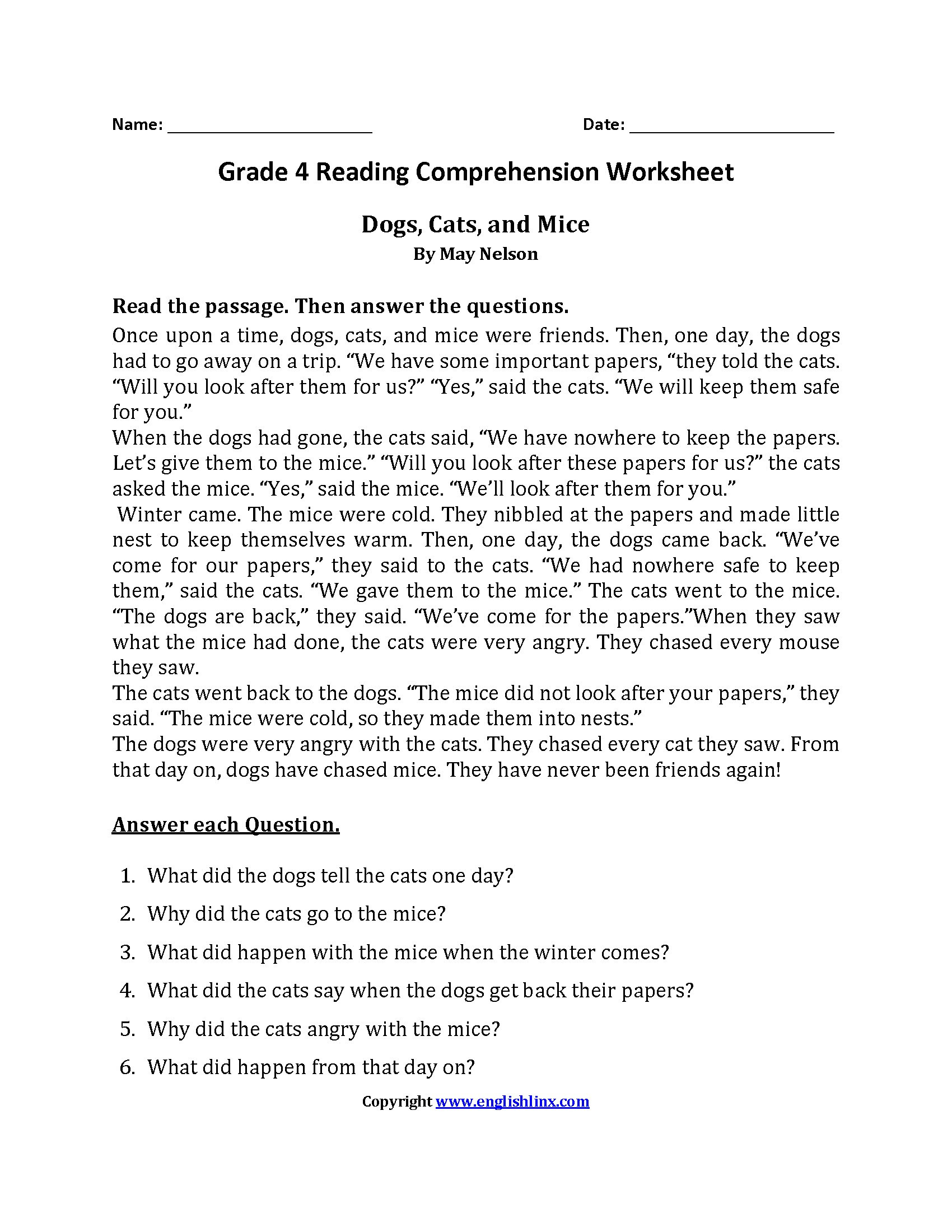 9th Grade Reading Worksheets Grade Physical Science Worksheets Printable and Free 9th