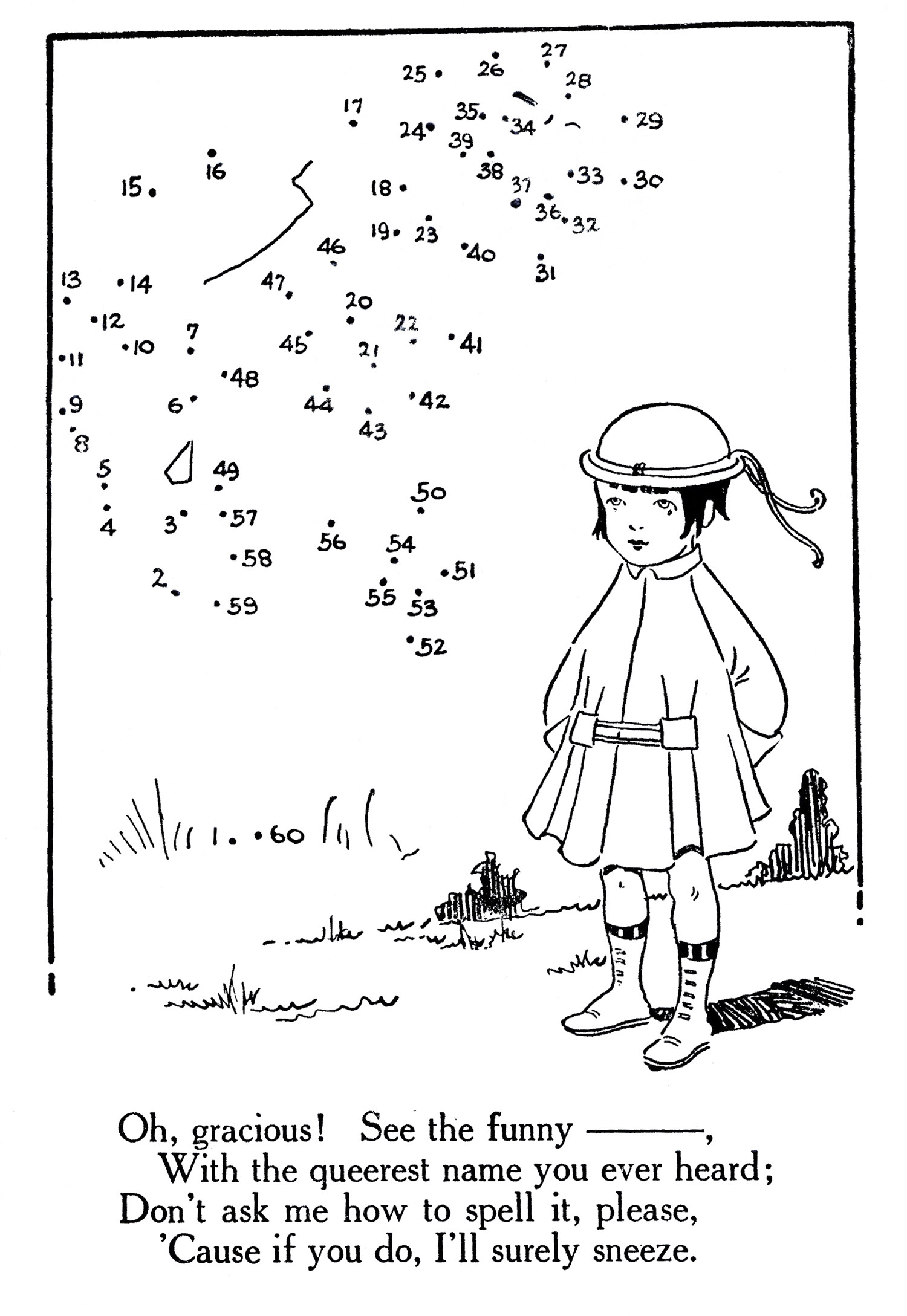 Abc Dot to Dot Printable Printable Connect the Dots Flapper Girl the Graphics Fairy