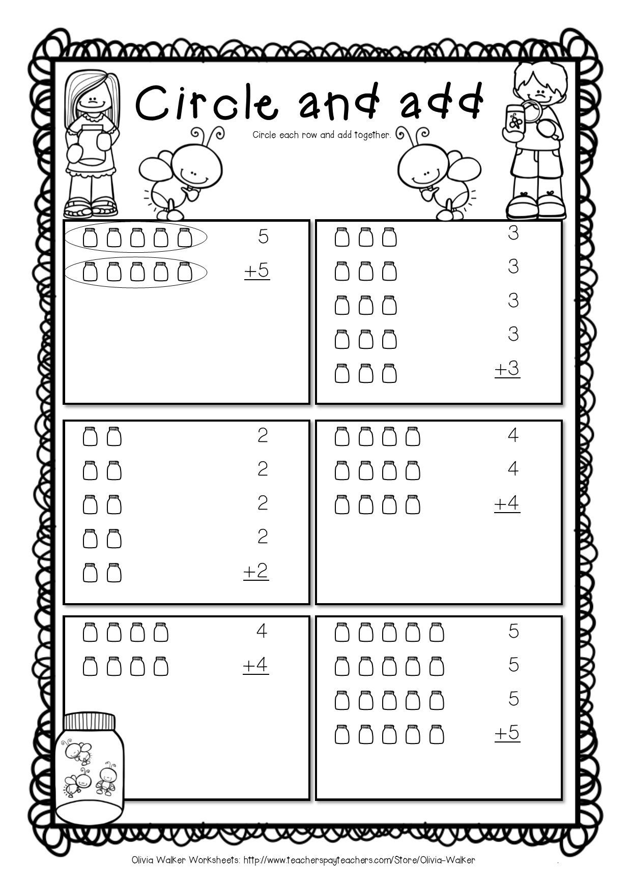 Array Math Worksheets Arrays Worksheets Grade Two Math Standard First