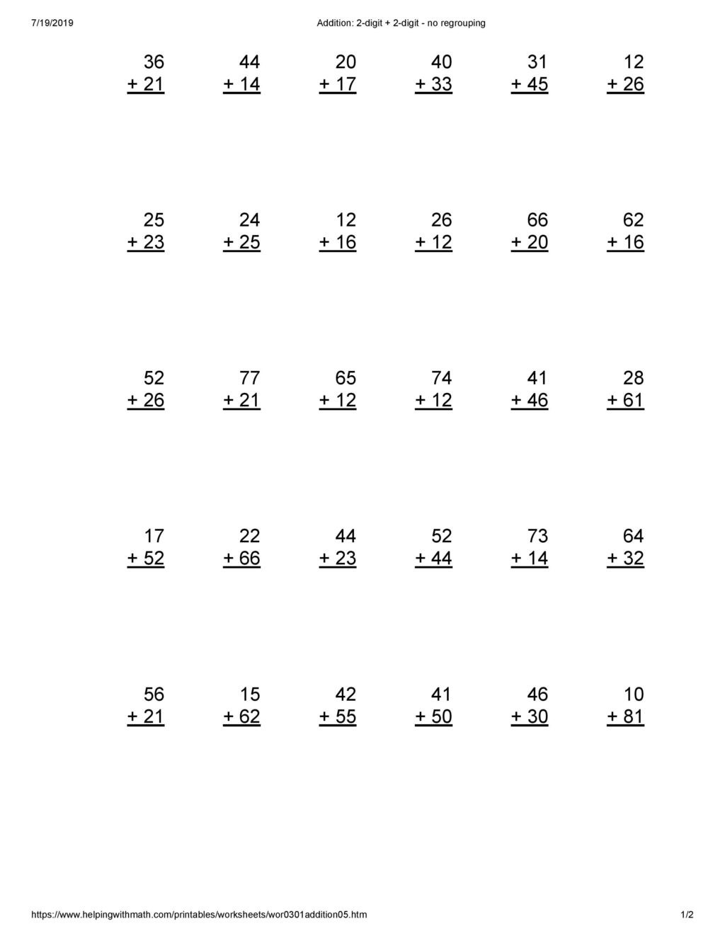 Arrays Worksheets Grade 2 Worksheet Worksheet Addition for Grade Archives You