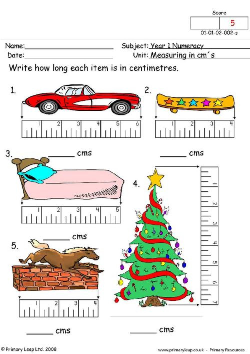 Automotive Math Worksheets القياس Interactive Worksheet