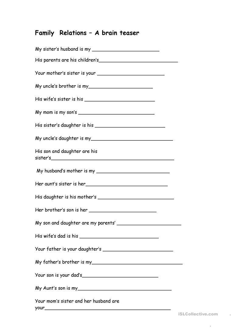 Brain Teasers Printable Worksheets Printable Worksheets Brain Teasers в 2020 г