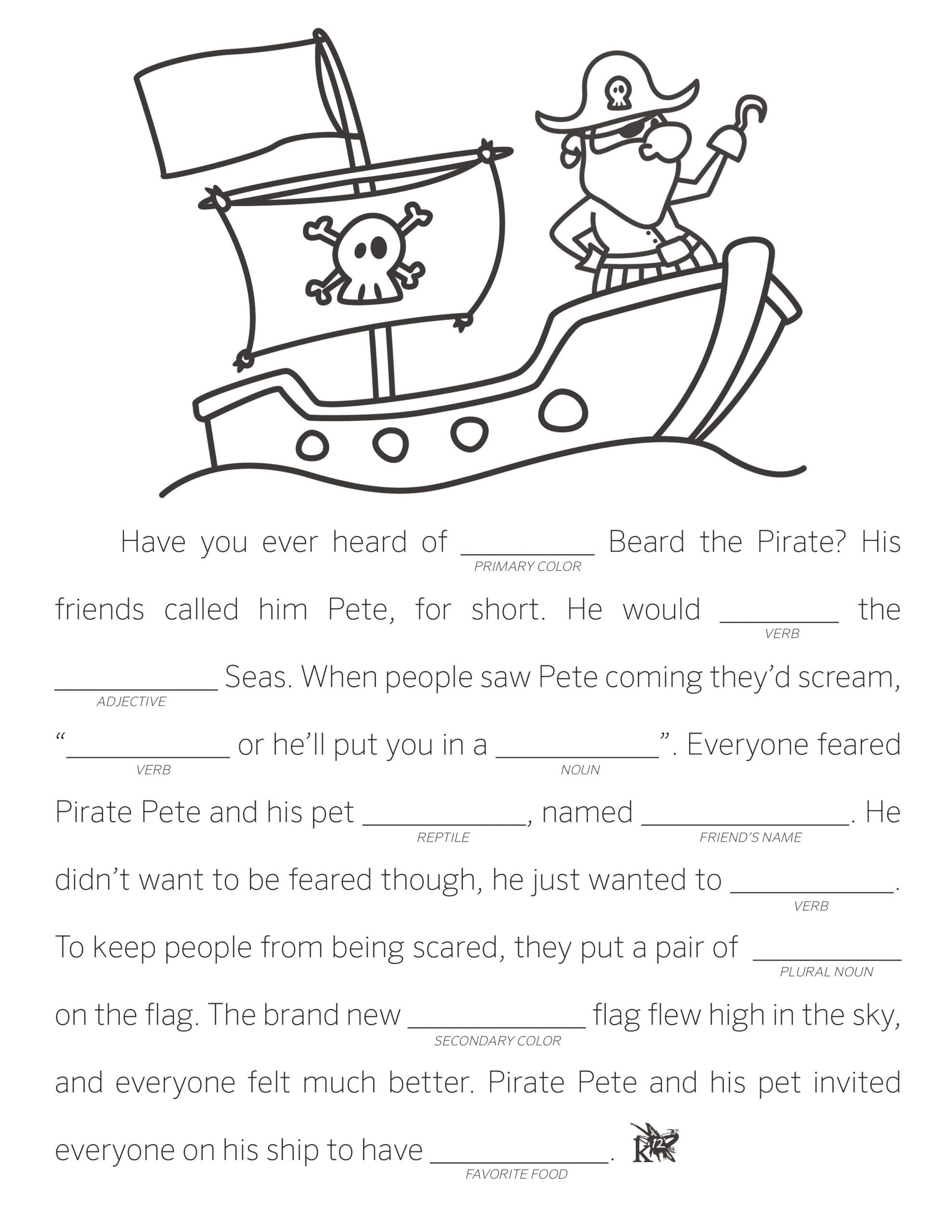 Character Traits Worksheet 2nd Grade Fill In the Blank Funny Worksheets Printable Inferring