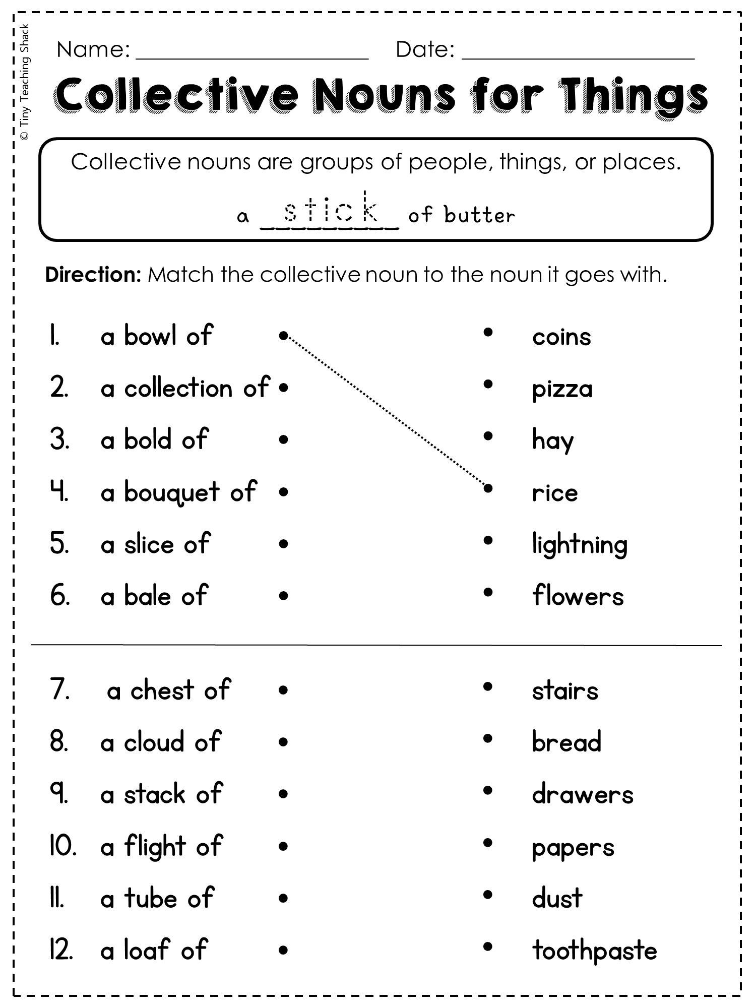 Ck Worksheets for 2nd Grade 2nd Grade Language Arts and Grammar Practice Sheets Freebie