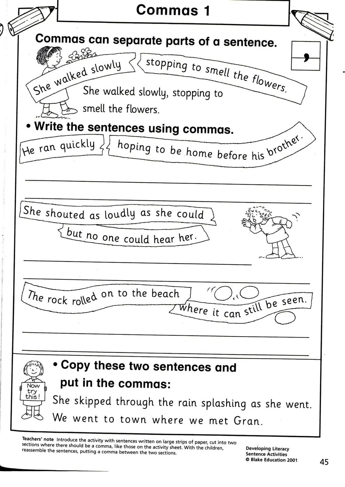 Comma Worksheet Middle School Pdf I Did It I Taught for the First Time