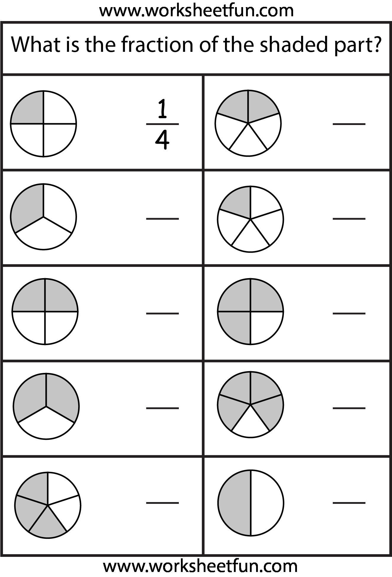 Comparing Fractions Third Grade Worksheet Pin On Grade Sheet Template Worksheets