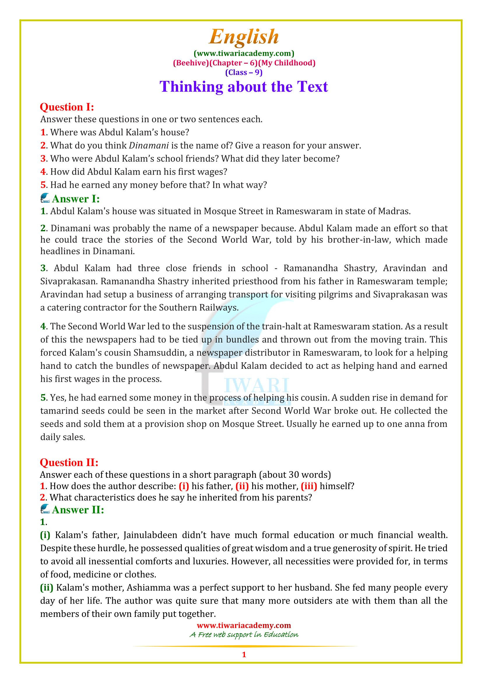 Comprehension Worksheets for Grade 6 4 Reading Prehension Worksheets Sixth Grade 6 9 English