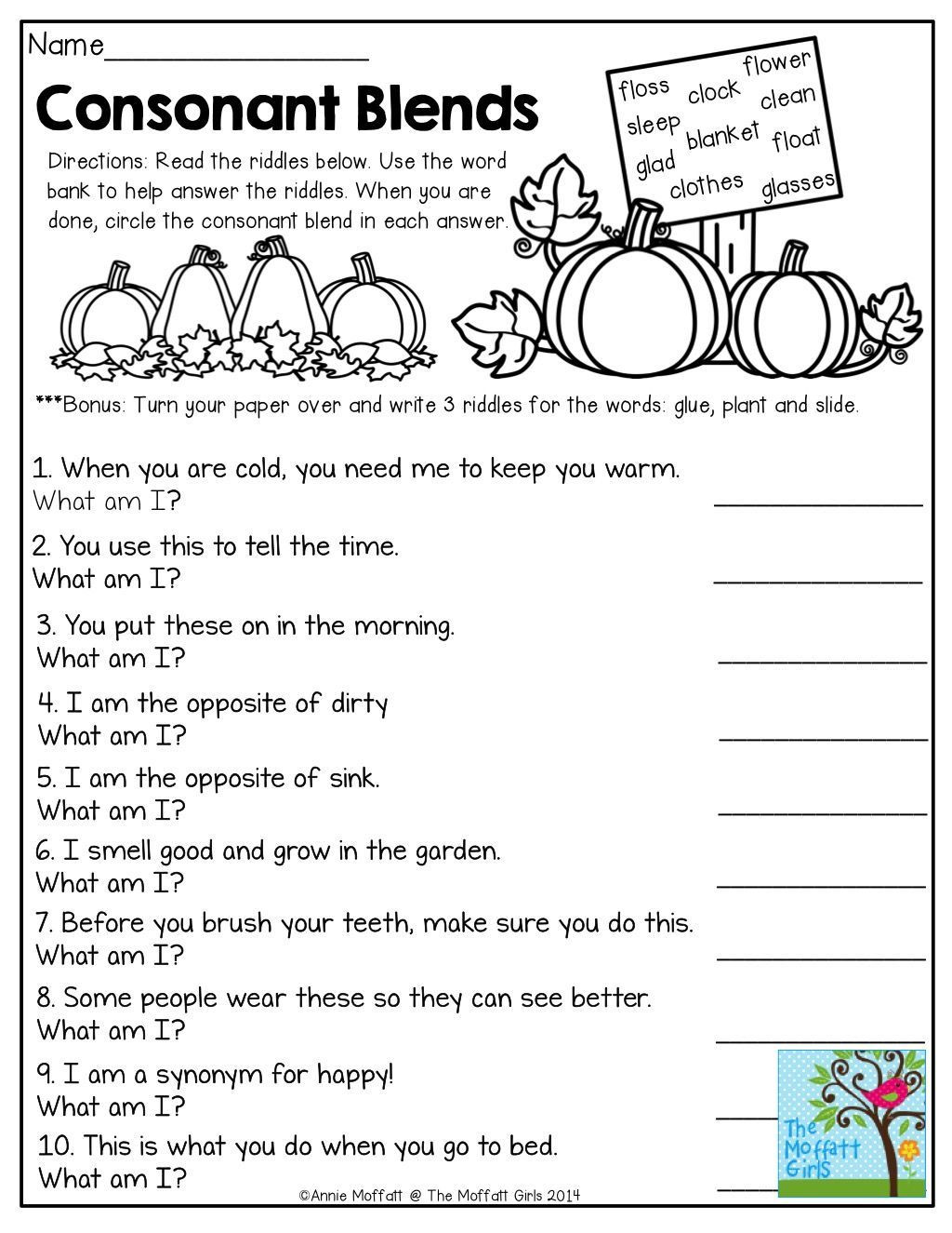 Phonics Worksheets Grade 3