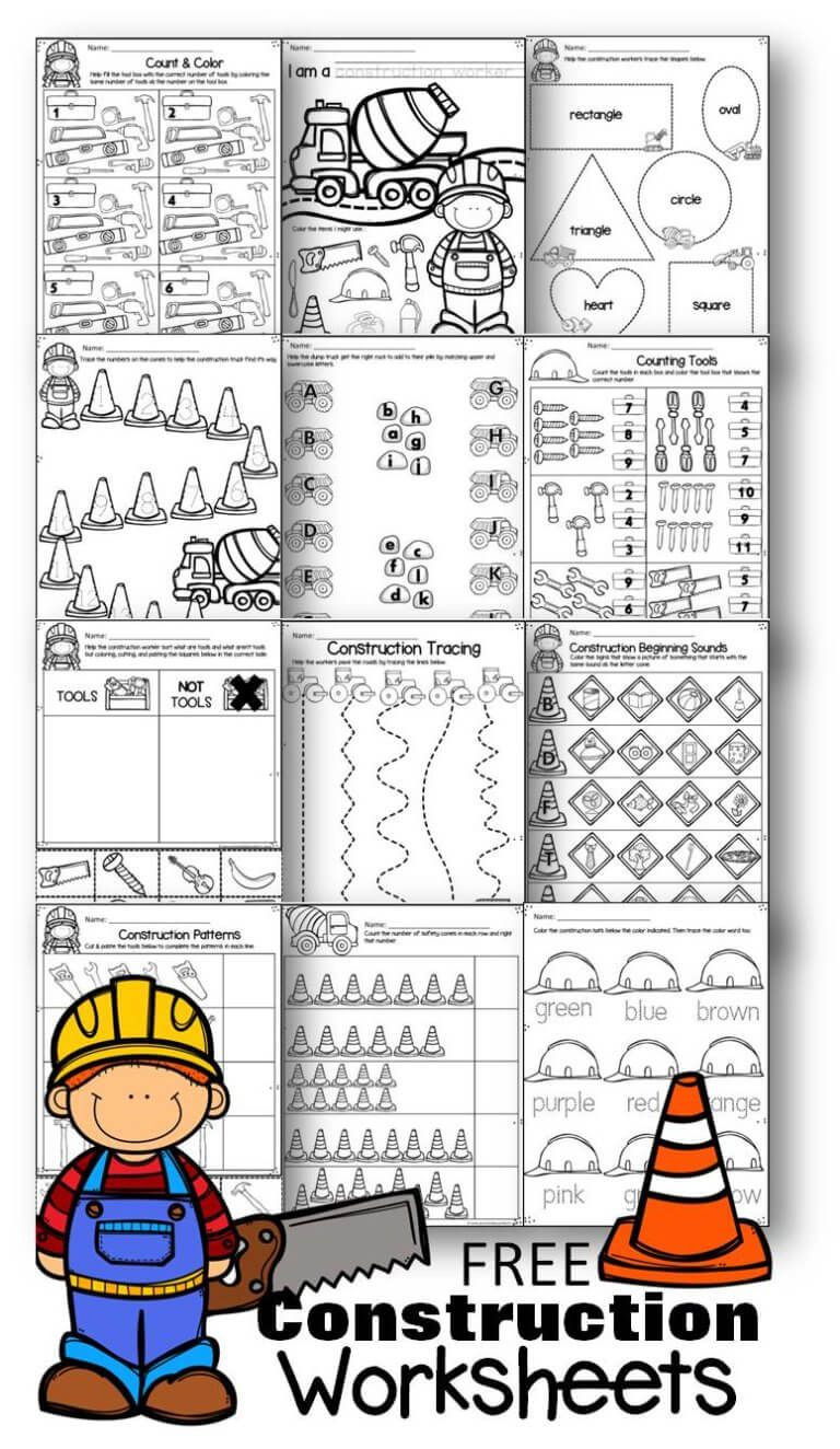 Construction Math Worksheets Free Construction Worksheets