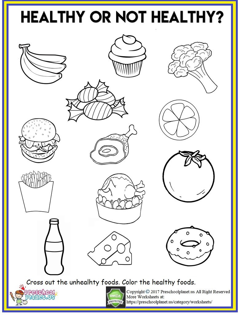 Cooking Worksheets for Middle School Healthy Food Worksheet Out Th Flickr Worksheets Cool Fun