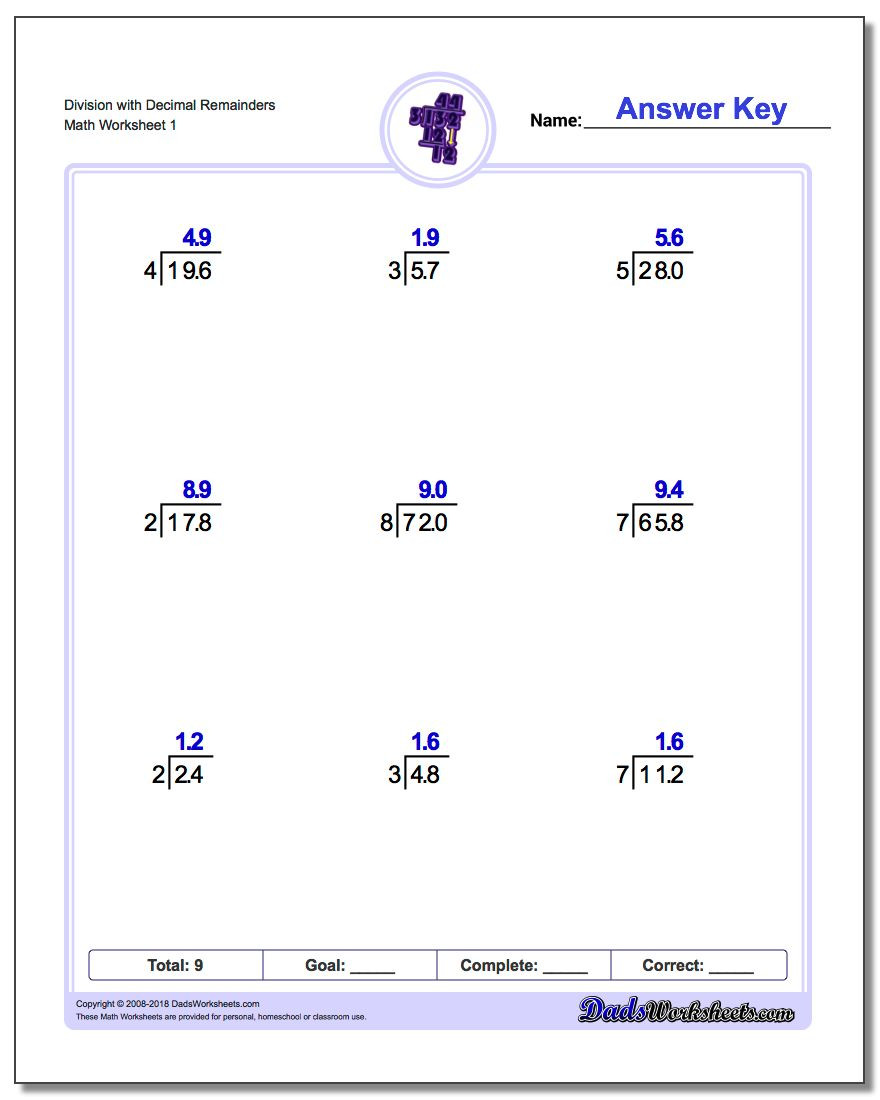 Coordinate Plane Worksheet 5th Grade Division Worksheets Fourth Grade Math E Digit with Decimal