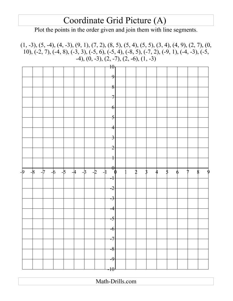Coordinate Plane Worksheet 5th Grade Pin On Educational Worksheets Template