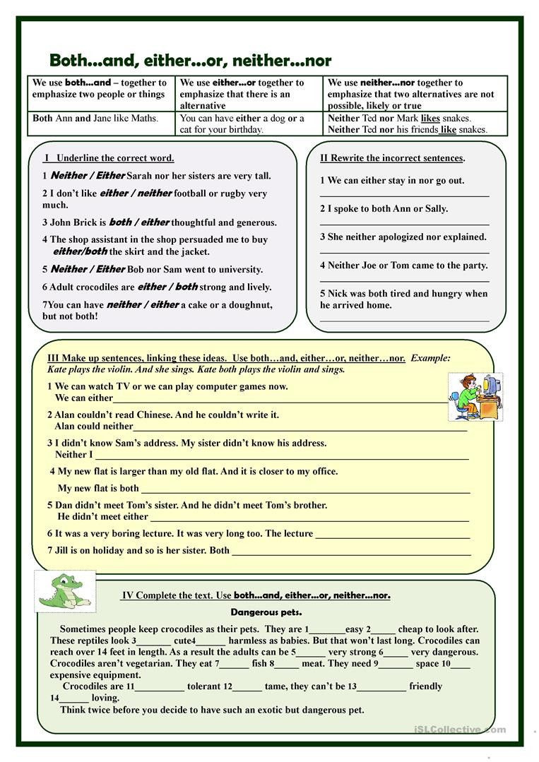 Correlative Conjunctions Worksheet 5th Grade Pin On Educational Worksheets Template