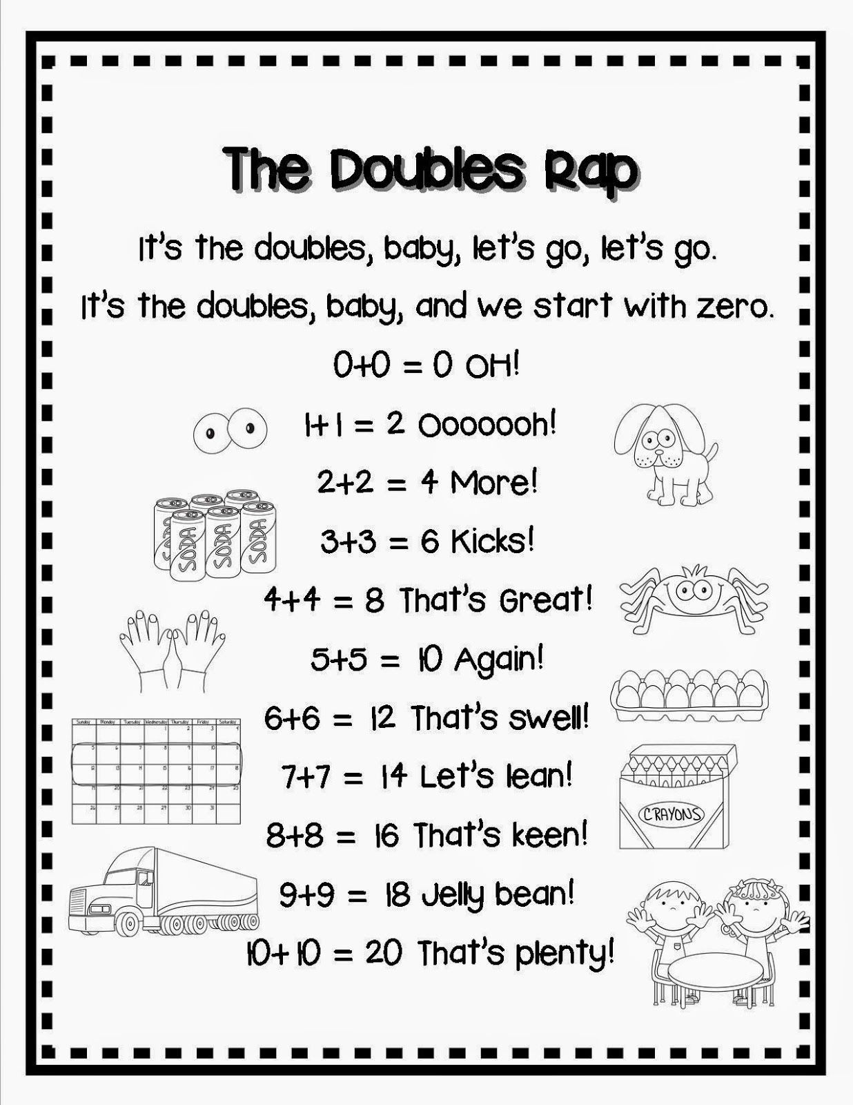 DOUBLES and NBT Task Cards and FREEBIE