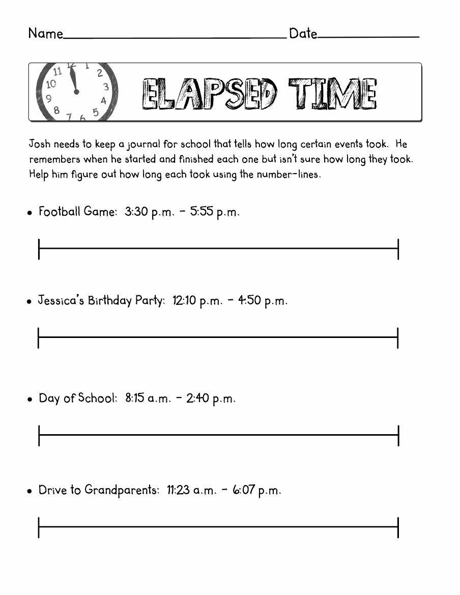 Elapsed Time 3rd Grade Worksheets 4 Free Math Worksheets Third Grade 3 Telling Time Telling