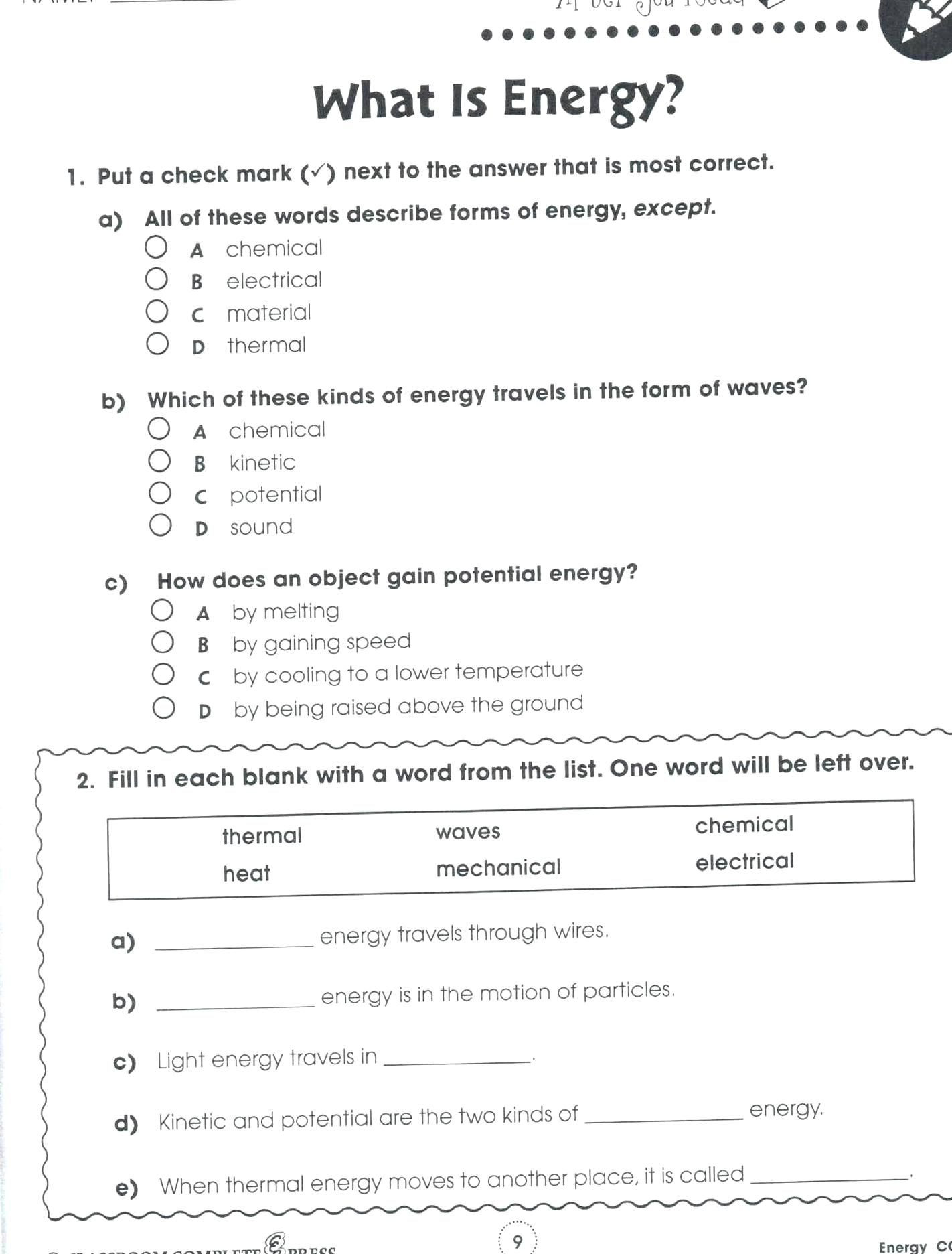 Energy Worksheets for 4th Grade Pin On Quality Pins