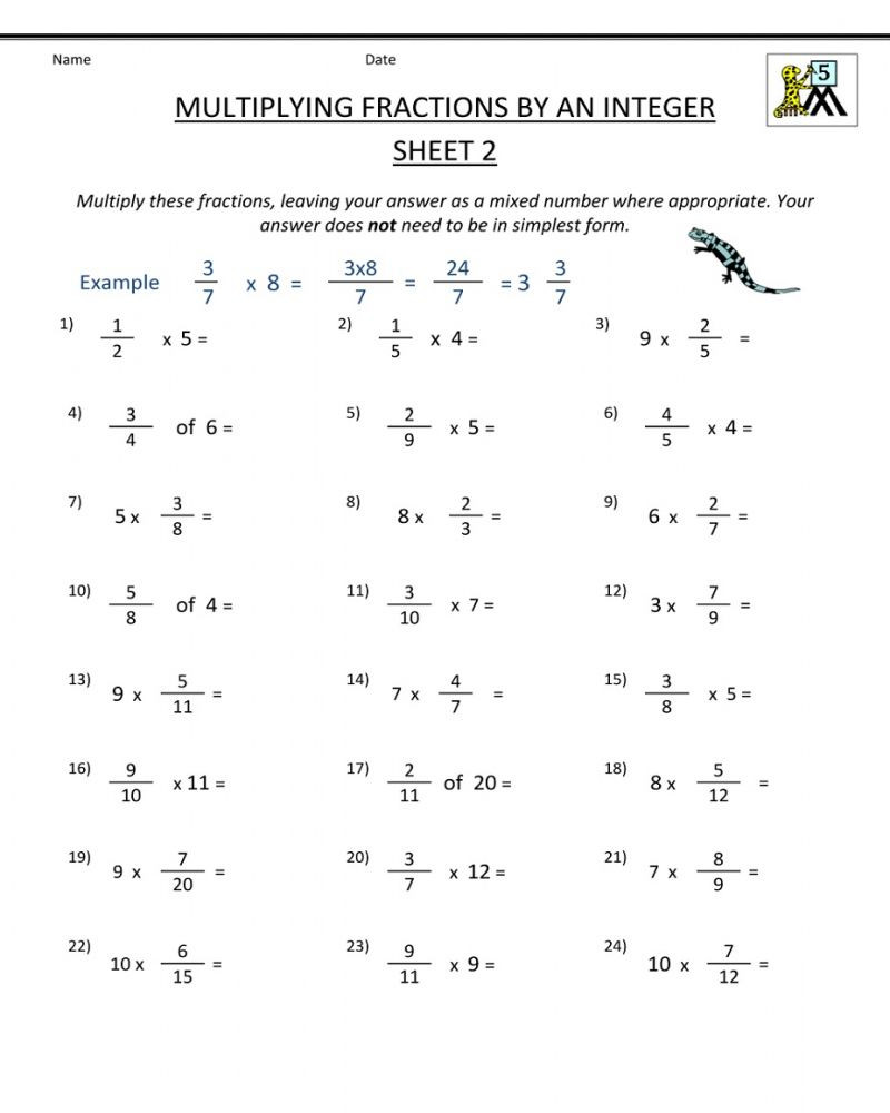 Equivalent Fractions Worksheets 5th Grade 5th Grade Math Worksheets Fractions