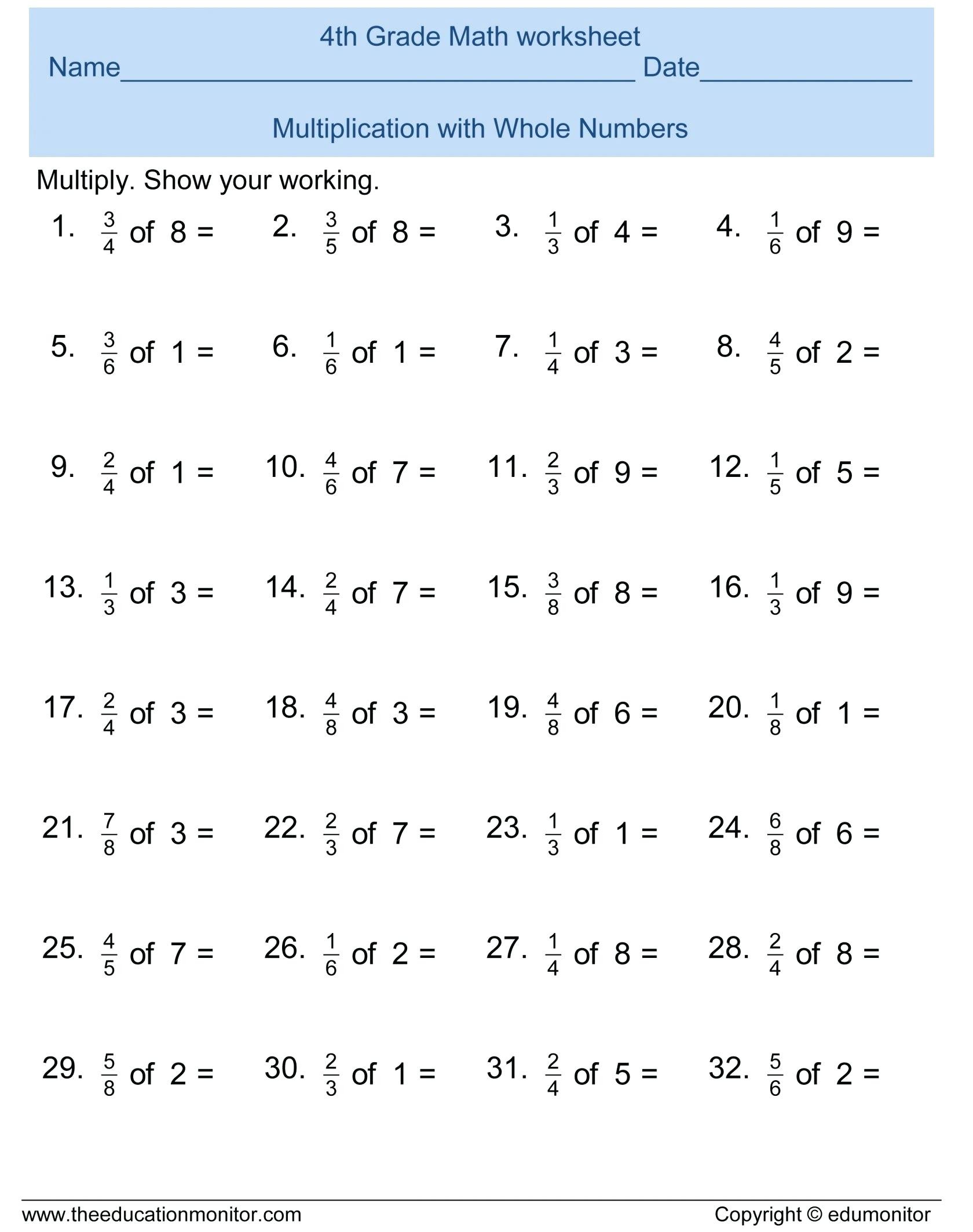 Estimating Products Worksheets 4th Grade Estimating Sums and Differences Worksheets
