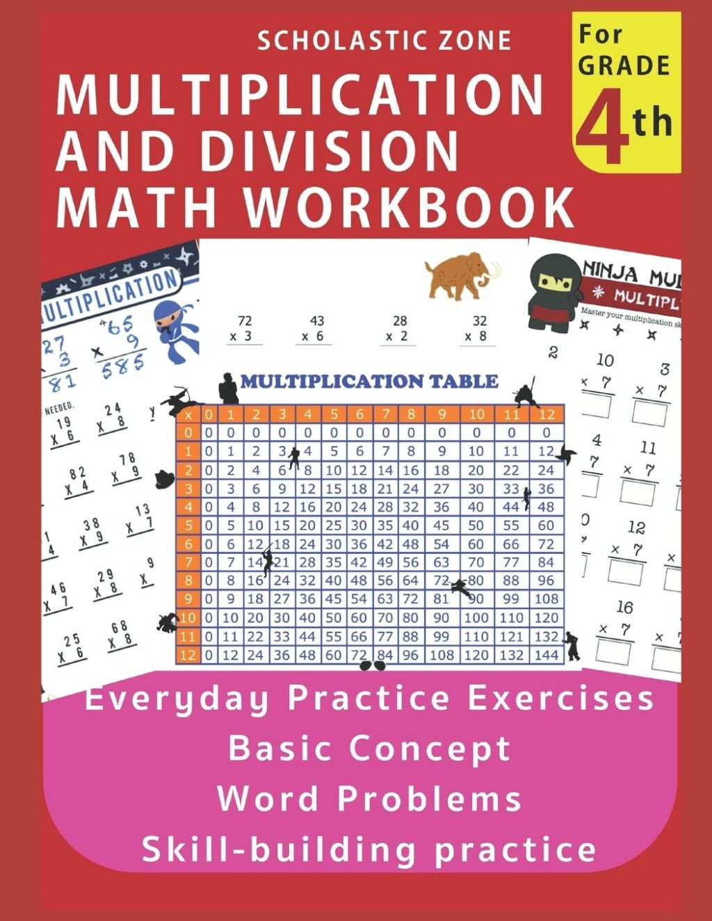 Everyday Math 4th Grade Worksheets Worksheet Extraordinary 4th Grade Multiplication Problems