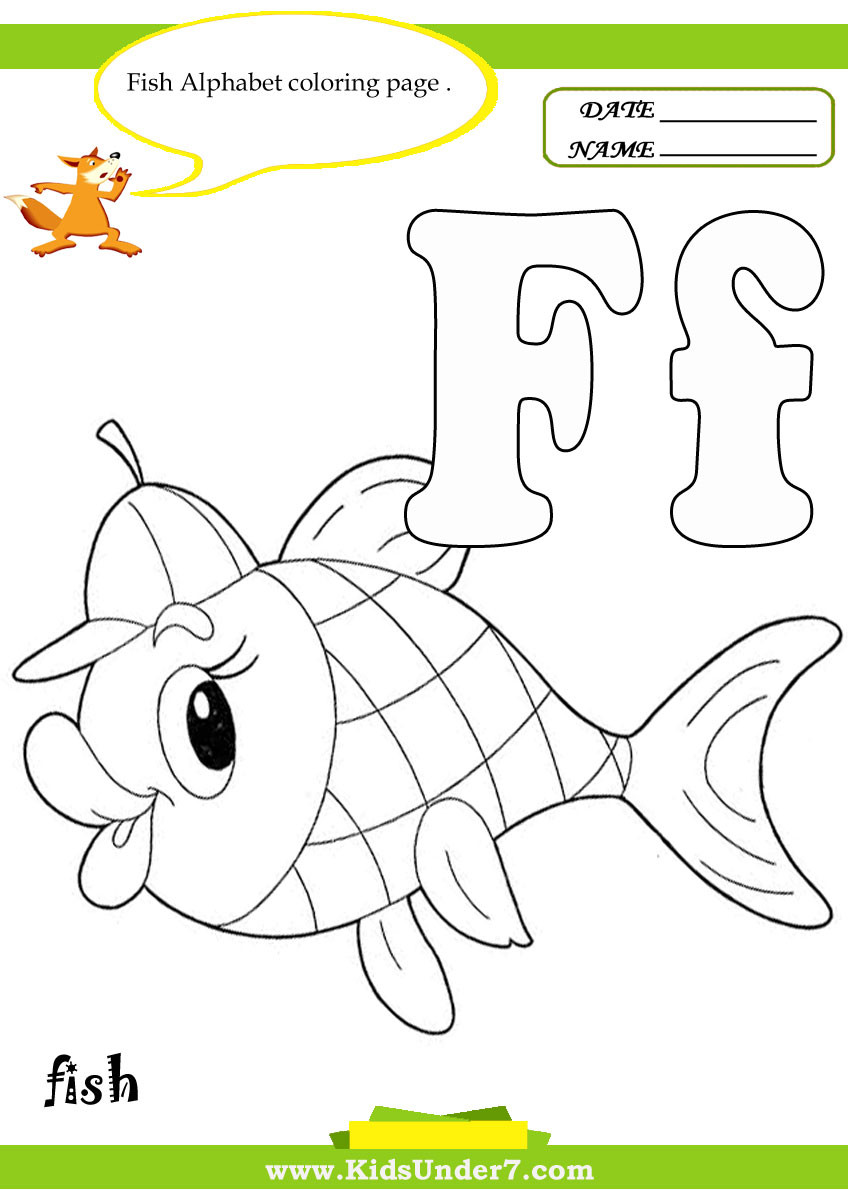 F Worksheets for Preschool Stunning Letter F Coloring Page Ideas