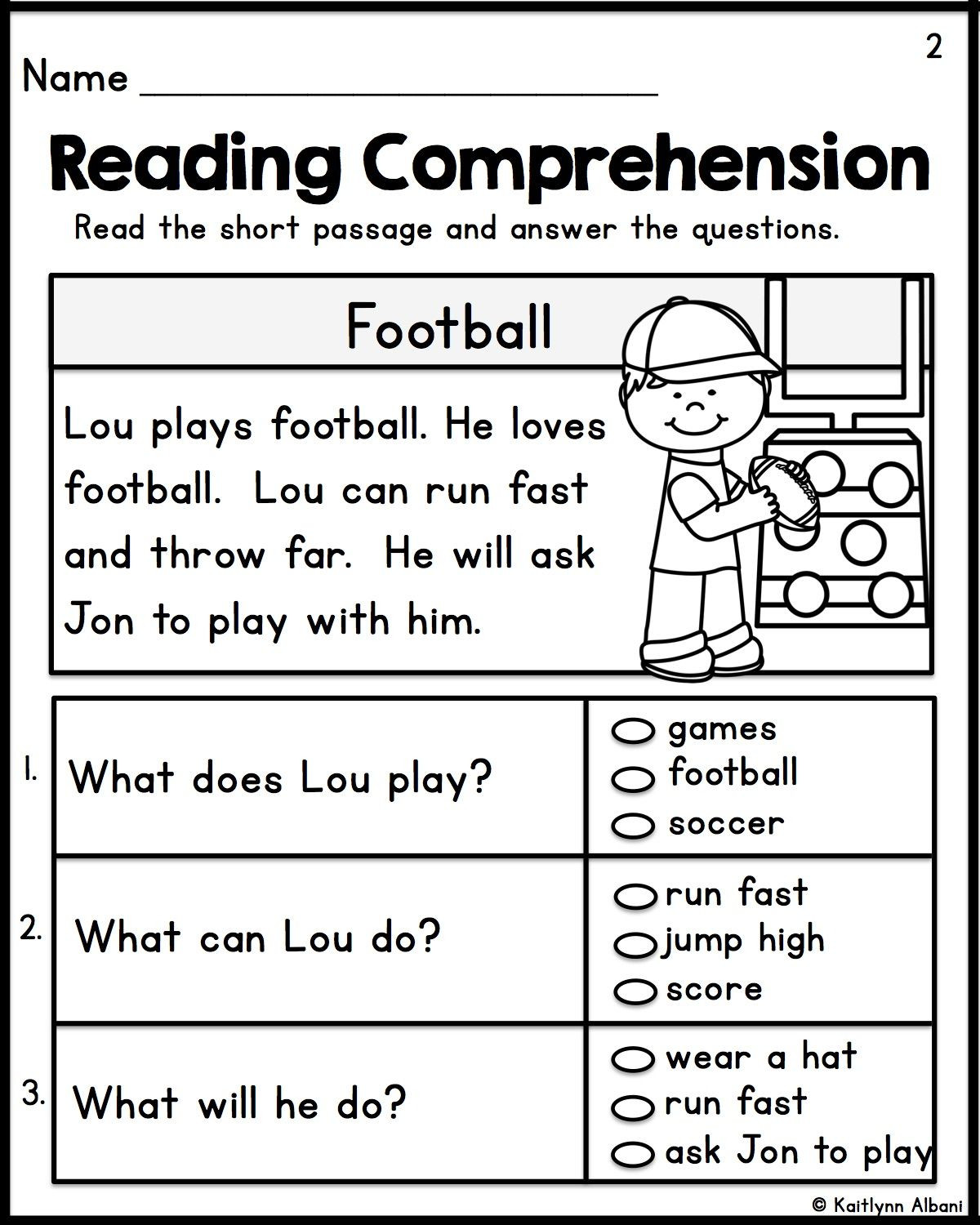 Free 1st Grade Comprehension Worksheets Math Worksheet 60 First Grade Prehension Worksheets