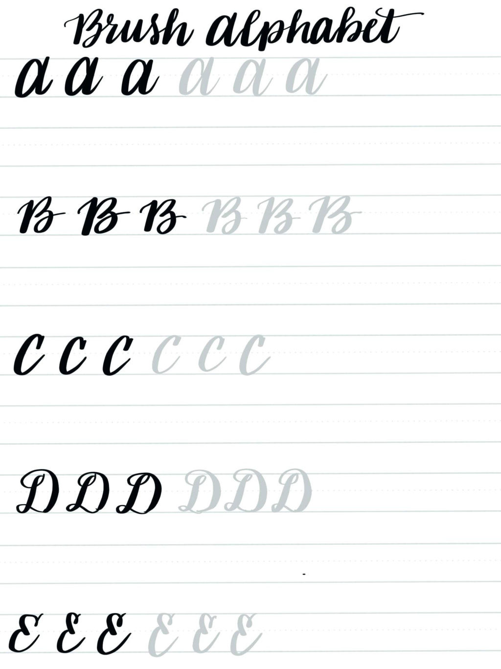 Free Calligraphy Worksheets Printable Worksheet English Calligraphy Worksheets Free Practice for
