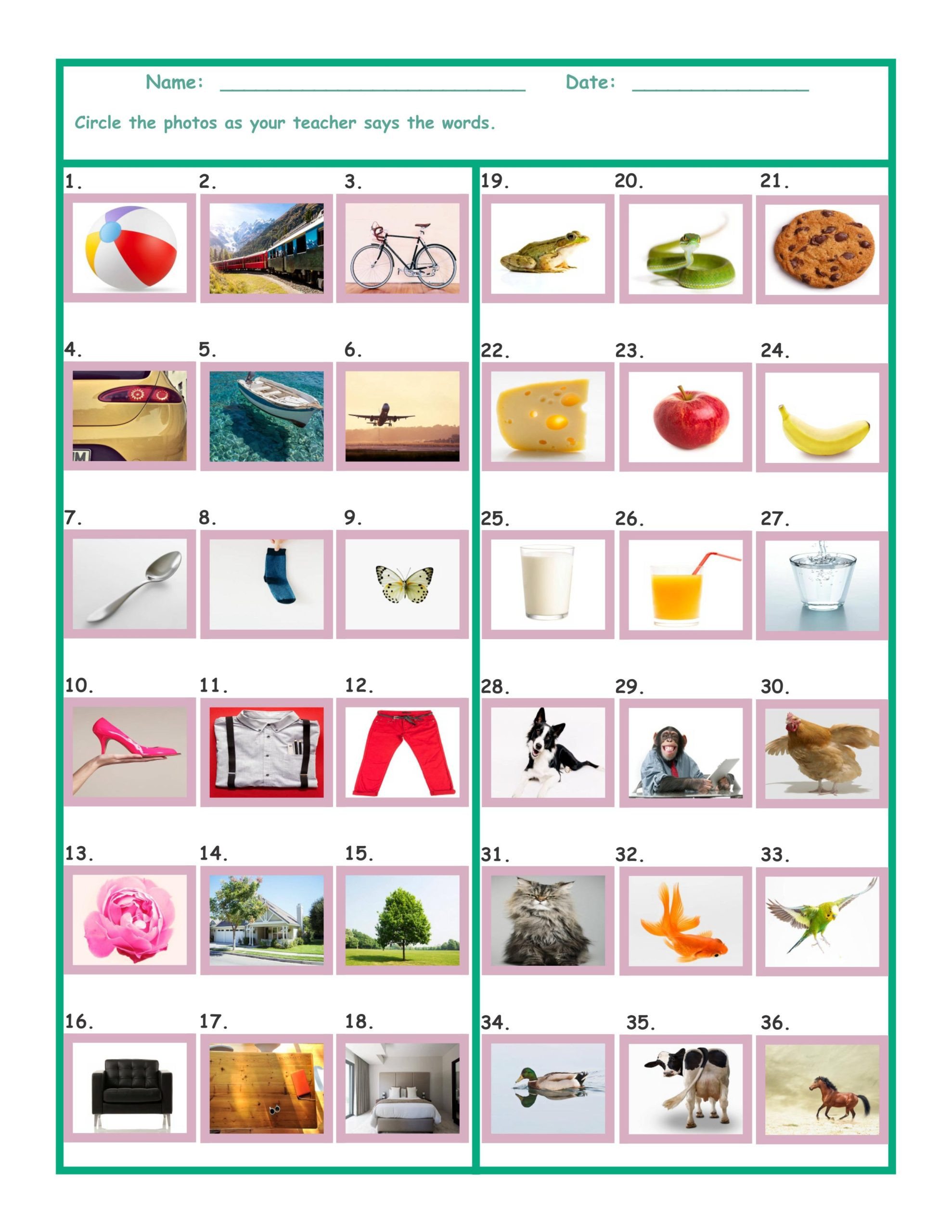 Free Printable Computer Worksheets Worksheet Parts the Puter for Kindergarten Free Math