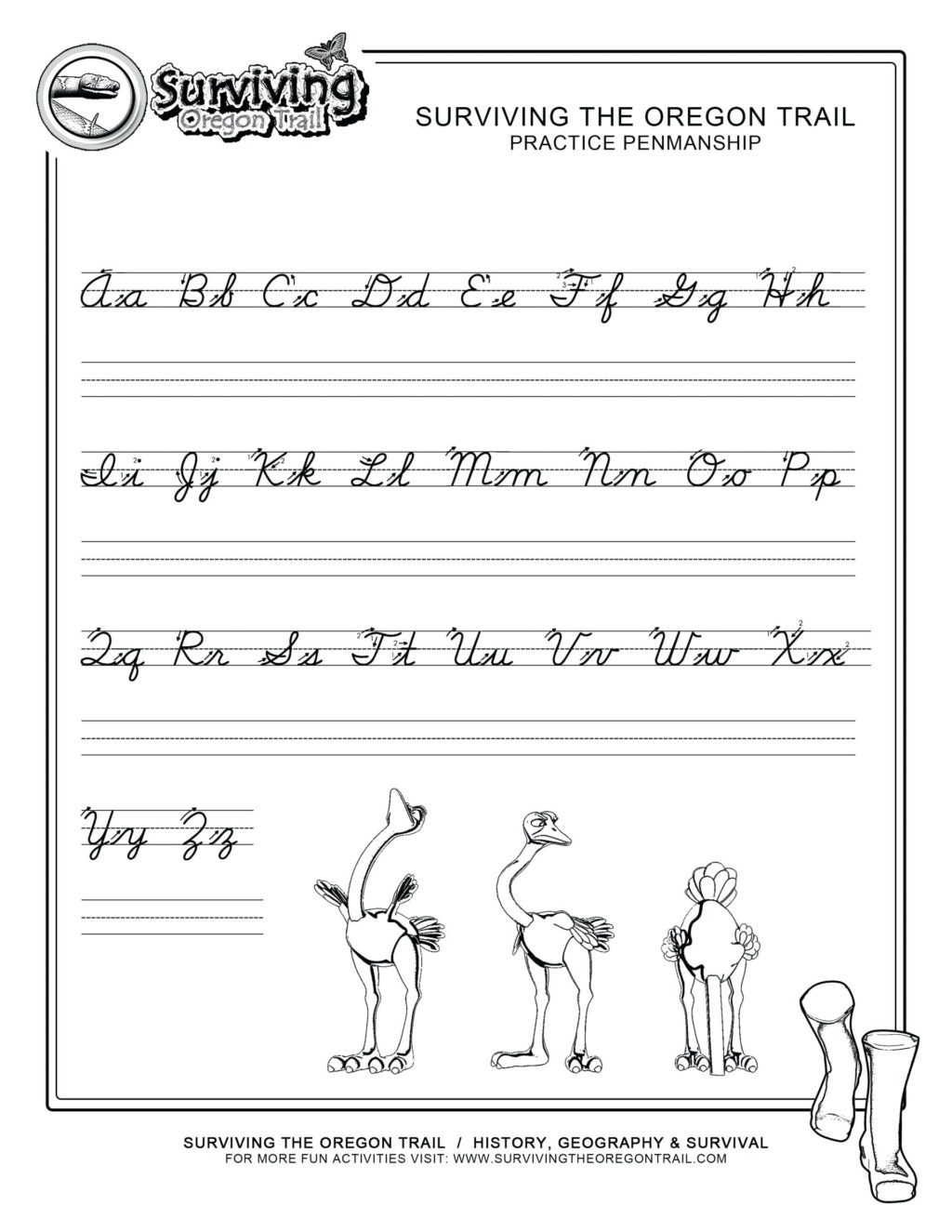Free Printable Cursive Alphabet Chart Worksheet Cursive Writing Q Worksheets Printable and