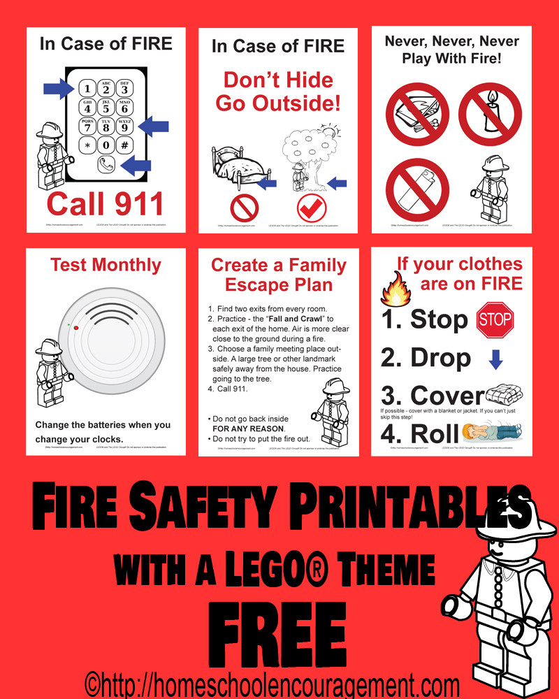 Free Printable Fire Safety Worksheets Fire Safety Resources for Parents