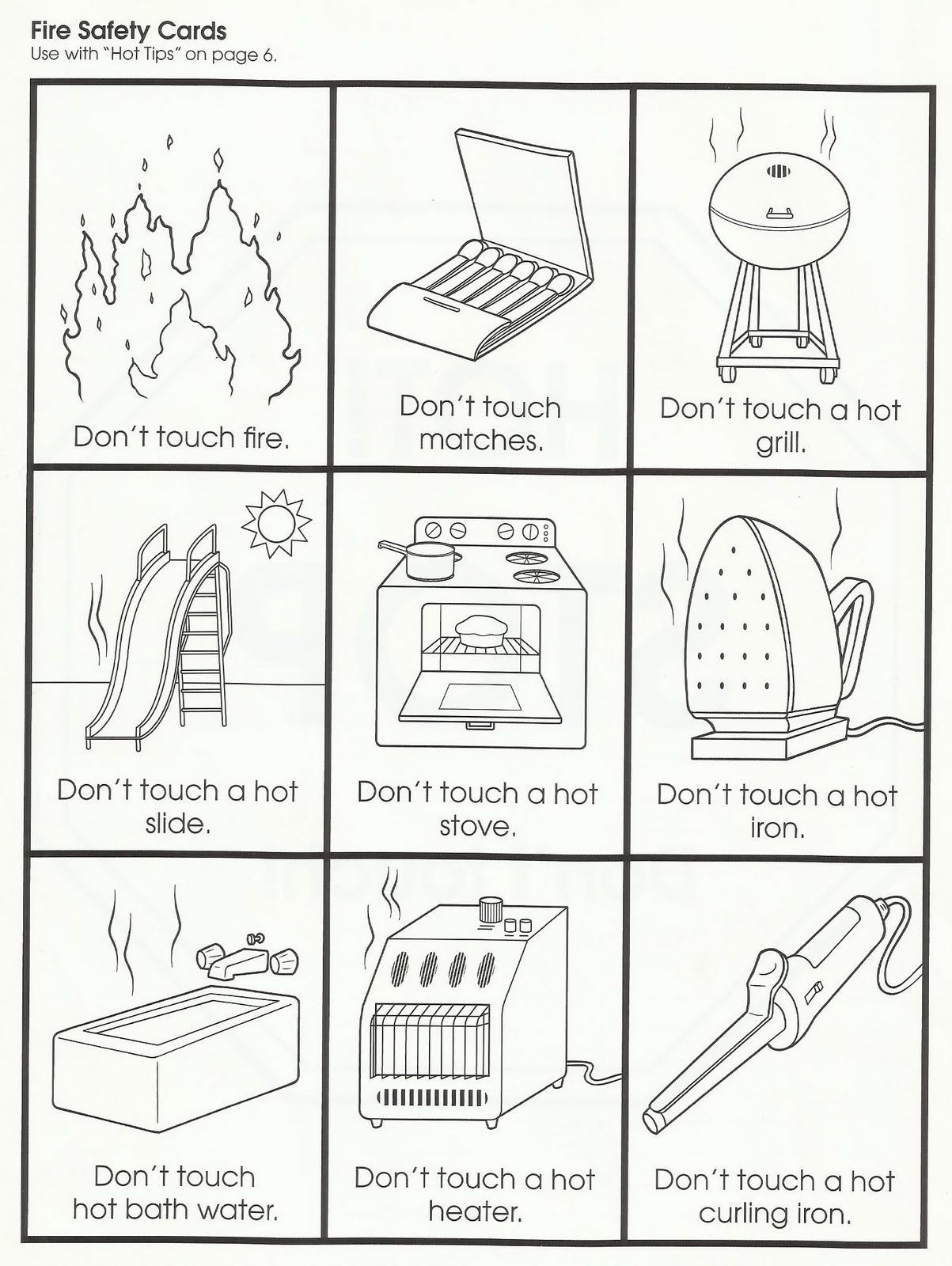 Free Printable Fire Safety Worksheets Squish Preschool Ideas Fire Safety Munity Helpers Fire