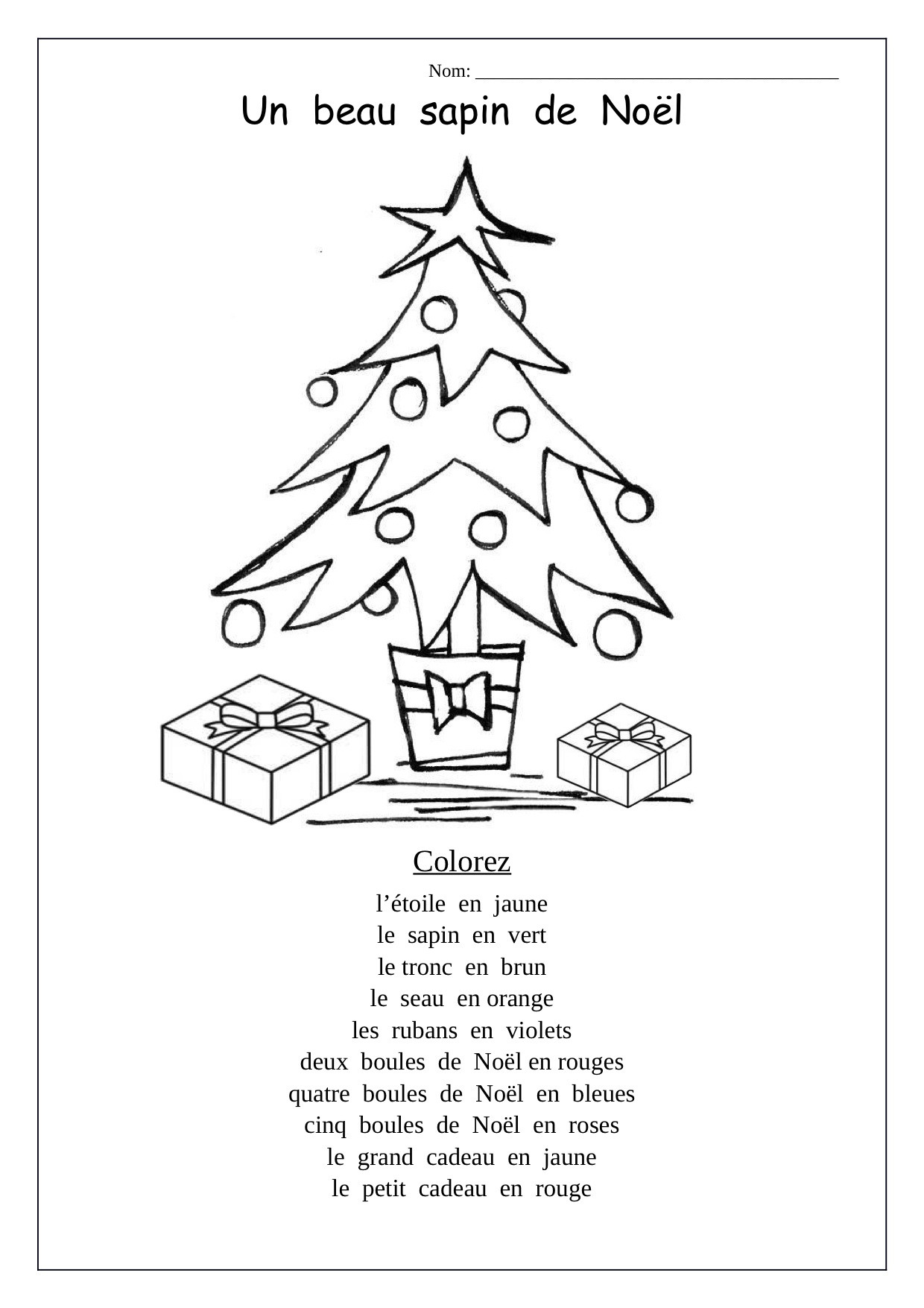 French Printable Worksheets Printable French Writing Worksheets and Christmas School