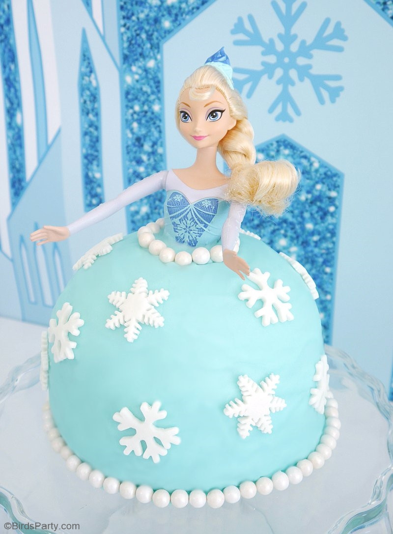 Frozen Cake toppers Printable Frozen Elsa Cake Decorations the Cake Boutique