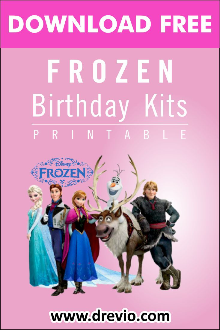 Frozen Invitations Printable Free Free Printable Frozen 2 Birthday Party Kits Templates