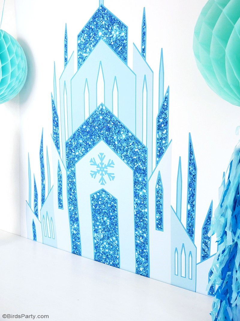 Frozen Invite Printable Diy Frozen Inspired Birthday Party Backdrop Party Ideas