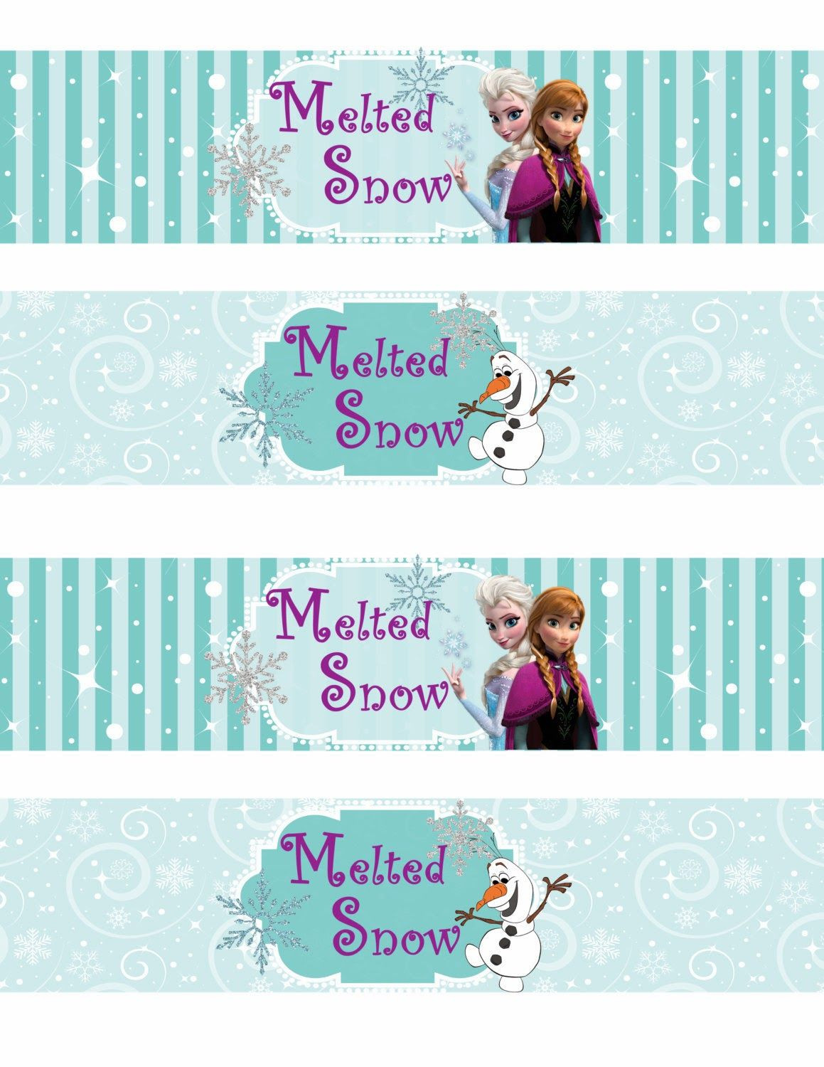Frozen Invite Printable Free Printable Frozen Labels
