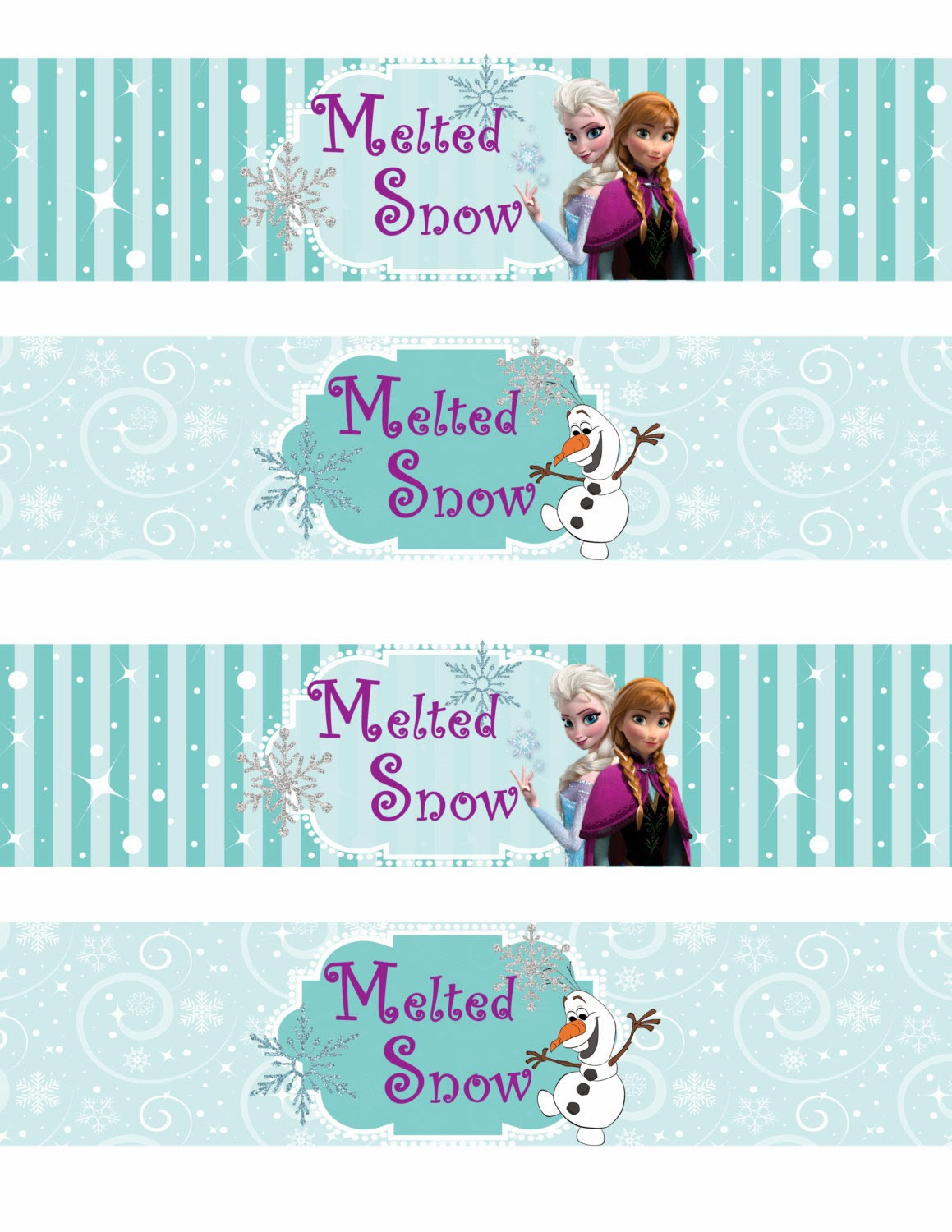 Frozen Printable Birthday Invitations Free Printable Frozen Labels Oh My Fiesta In English