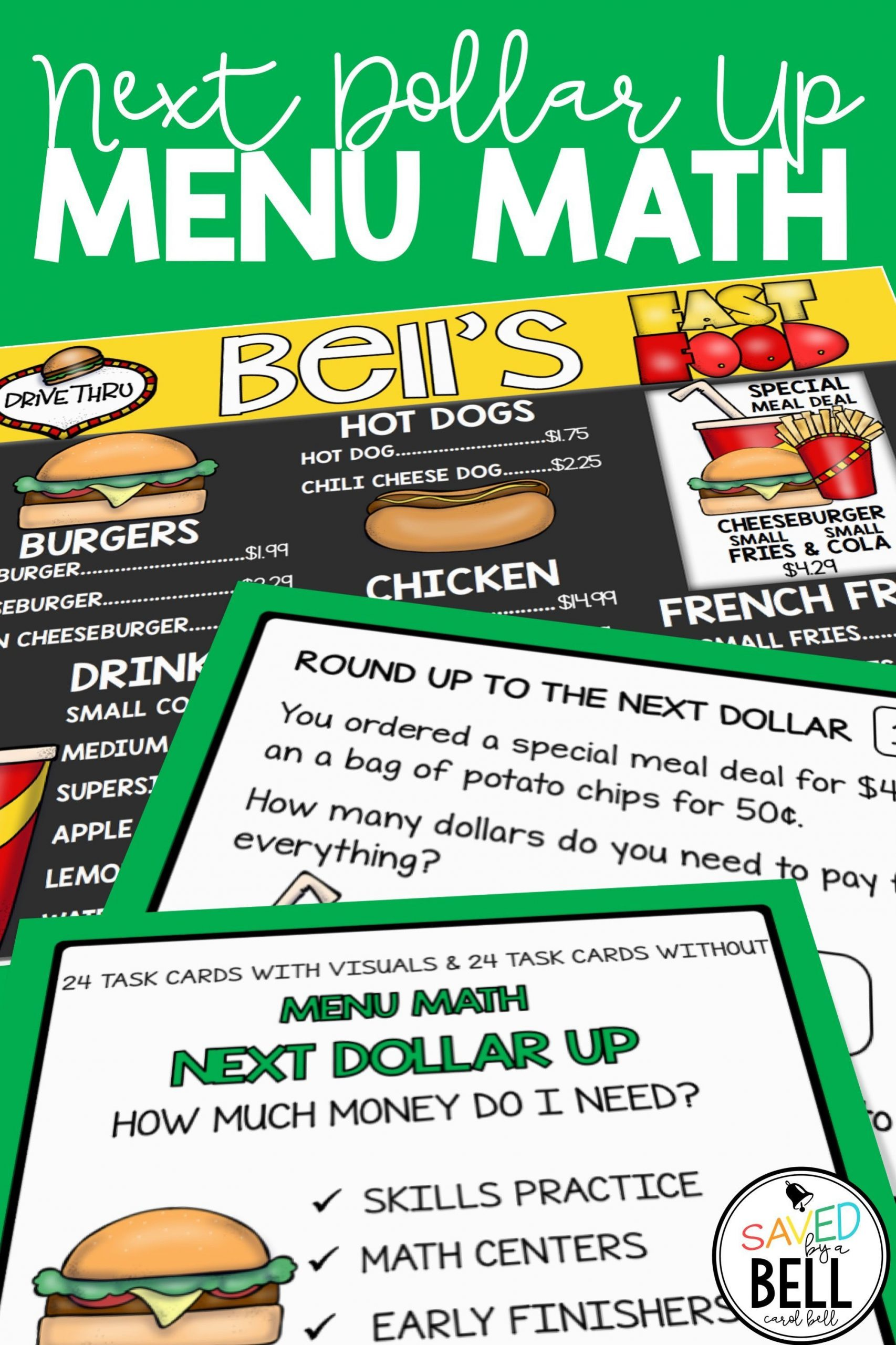 Functional Math Worksheets Special Education Next Dollar Up Worksheets and Word Problems Menu Math