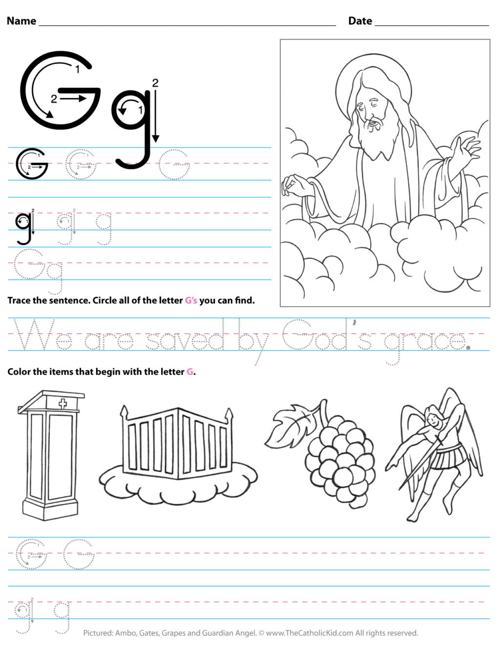 G Worksheets for Preschool Worksheet Staggering I Worksheets for Preschool Worksheet