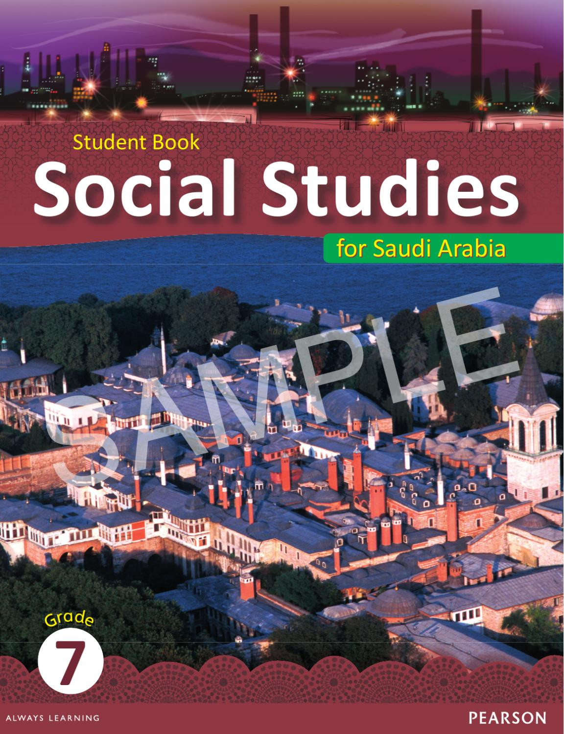 Grade 7 social Studies Worksheets Saudi social Stu S Grade 7 Student Book Unit 1 Sample by