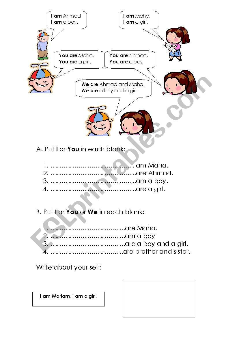 Grammar 3rd Grade Worksheets Grade 3 Grammar Esl Worksheet by Maha